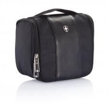 Дорожная косметичка Swiss Peak toilet bag черная
