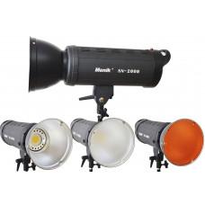 Постоянный свет Menik SN-2000 LED 200 Вт 5500K-3200K (фильтр)