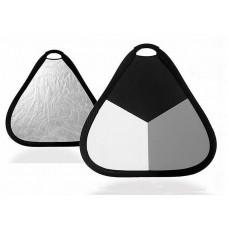 Экспозиционная панель Visico TR-053 black/gray/white (60см)