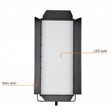 LED панель Tolifo GK series 3200 v mount battery plate LED light panels for Videography GK-J-3200SS