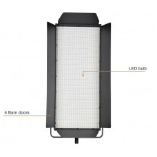 LED панель Tolifo Bi-Color High CRI 85 Bi-color 5600K to 3200K 3200 LED Panel Lights For Video GK-J-3200SB