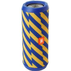 JBL Flip 4 Zap сине-желтый узор