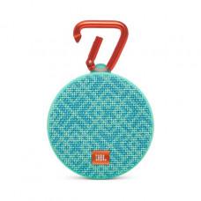 Акустика JBL Clip 2 Mosaic бирюзово-синий узор