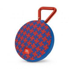 Акустика JBL Clip 2 Malta красно-синий узор
