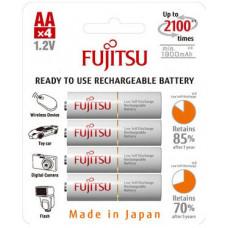 Аккумуляторы AA FUJITSU 1900 mAh (4 шт.) (HR-3UTG)