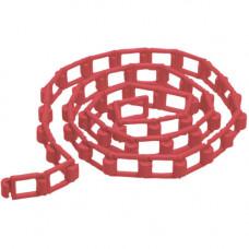 Manfrotto цепь для фона пластик 3 м красная 091FLR