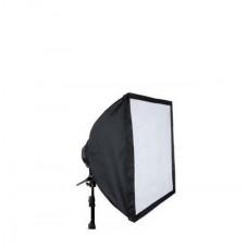 Комплект - Постоянный  флуоресцентный свет Menik (софтбокс 60х60 см, 4 лампы 40W)