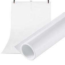 Фон для фото на документы тканевый белый 135х100 мм