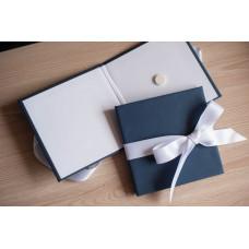 Коробка для диска картонная синяя