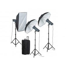 Набор студийного света Mircopro EX 600LR Valued kit