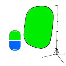 Фон Savage Infinity Collapsible Chroma Green/Blue 1.52m x 1.83m (со стойкой)