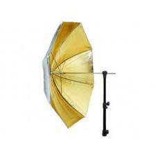Зонт Mircopro UB-005G золото/серебро 100см