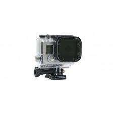 Slim Frame Polarizer Glass - поляризованный фильтр из стекла для камер GoPro Hero3 (C1019)