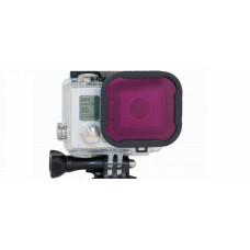 Пурпурный светофильтр Hero3+ Magenta Filter (Polar Pro) (P1002)