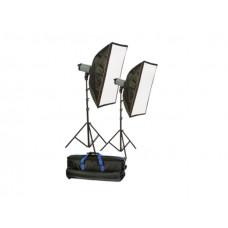 Комплект студийного света Menik P-250 KIT