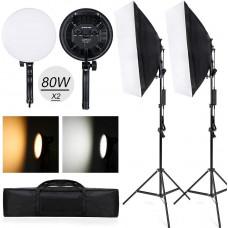 Набор постоянного студийного света LED 168 диодов EasyLight CA8081 (CA8081)