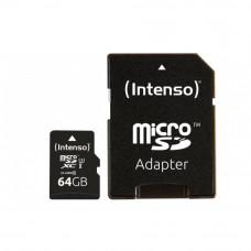 Карта памяти Intenso Micro SD Card PRO 64GB SDXC