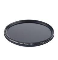 Светофильтр K&F Concept 55mm ND2-ND400 Slim Variable/Fader NDX