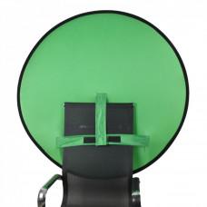 Фон складной на спинку стула Visico BP-014 Chroma Key зелёный (140см)