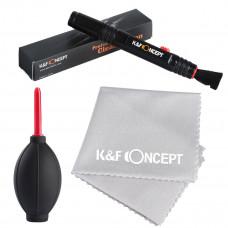 Набор для чистки оптики K&F Concept 3-в-1