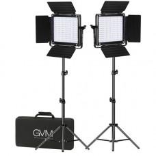 Набор постоянного LED видеосвета GVM 800D-RGB (3200-5600K) х2