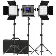 Набор постоянного LED видеосвета GVM 800D-RGB (3200-5600K) х3