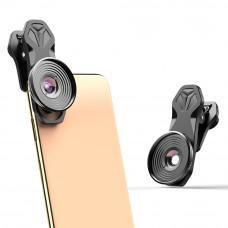 APEXEL профессиональные макрообъективы, внешняя камера для мобильных устройств, 10-кратные макрообъективы для смартфонов для iphone