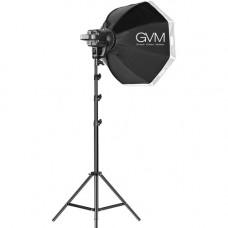 Набор постоянного LED видеосвета GVM P80S-2 80W (5600К) с софтбоксом стойкой