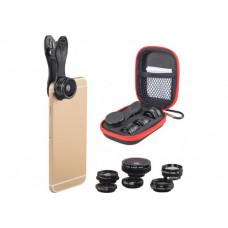 Набор объективов для смартфона / планшета APEXEL APL-DG7 7 in 1