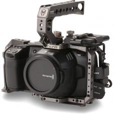 Кейдж камеры Tilta для карманной кинокамеры Blackmagic Design 4K / 6K (базовый комплект, серый цвет)