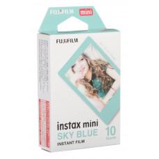 Фотобумага Fujifilm INSTAX MINI BLUE FRAME (54х86мм 10шт)