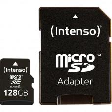 Карта памяти Intenso Micro SD Card Class 10 128GB SDXC