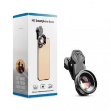 Макро объектив для iPhone APEXEL Macro 30-80 mm (APL-HB3080)