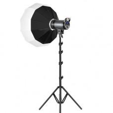 Постоянный LED видеосвет GVM G100W 100W (3200-5600K) с софтбоксом 65см