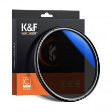 Светофильтр K&F Concept 72mm HMC CPL Blue-Coated, Japan Optics