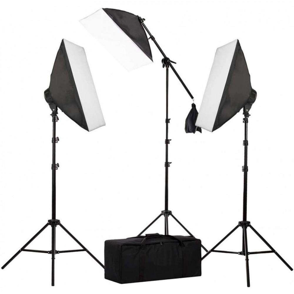 Набор постоянного света Visico FL-306-3 (50x70см) Triple Kit