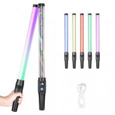 Портативная светодиодная лампа для видеосъемки Neewer 18 Вт с RGB-подсветкой