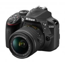 Фотокамера зеркальная Nikon D3400 + AF-P 18-55VR kit