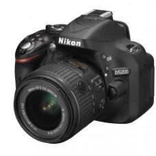 Фотокамера зеркальная Nikon D5200 + 18-55mm VR II Black KIT