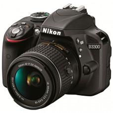 Фотокамера зеркальная Nikon D3300 + AF-P 18-55VR KIT