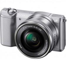 Фотокамера зеркальная Sony Alpha 5000 kit 16-50 Silver