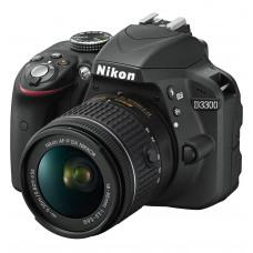 Фотокамера зеркальная Nikon D3300 + AF-P 18-55 Non-VR KIT