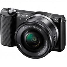Фотокамера зеркальная Sony Alpha 5000 kit 16-50 Black