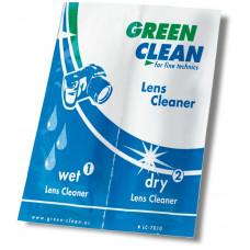 Салфетки для линз Green Clean LC-7010-1 влажная/сухая