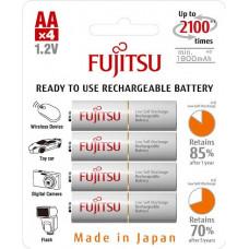 Аккумулятор AA Fujitsu HR-3UTCEX(4B) 1900 mAh (4 штуки)