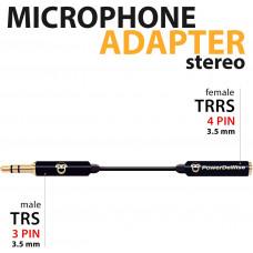 Адаптер для микрофона Lavalier Lapel Microphone PowerDeWise