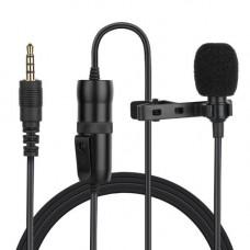 Микрофон петличка Puluz PU427 6м (3.5mm)