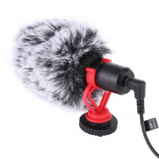 Микрофон Puluz PU3044 Video Mic (3.5mm)