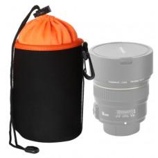 Чехол для объектива AccPro CA-1791E-M black/orange