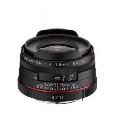 Объектив HD Pentax DA 15mm f/4 AL Limited Black